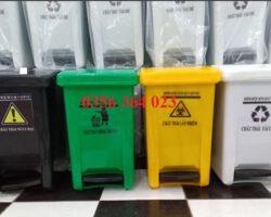 Thùng rác y tế 20 lít, thùng đựng r ác thải y tế 20l