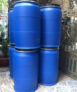 thùng phuy nhựa 220l nắp hở
