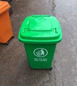 thùng rác nhưa 60l