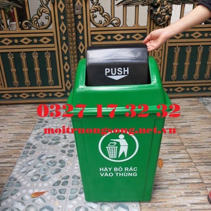 Thùng rác nhựa 60L