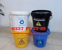 xô nhựa y tế 5 lít