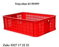 sóng nhựa hở HS009