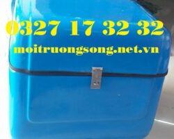 Thùng chở hàng xe máy cỡ trung vuông