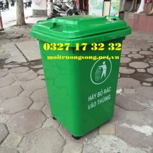 thùng rác chung cư 60 lít