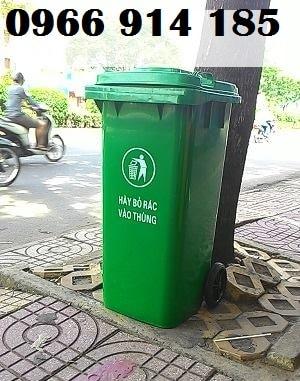 Thùng rác công cộng ngoài trời