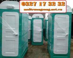 nhà vệ sinh lắp ghép bằng composite
