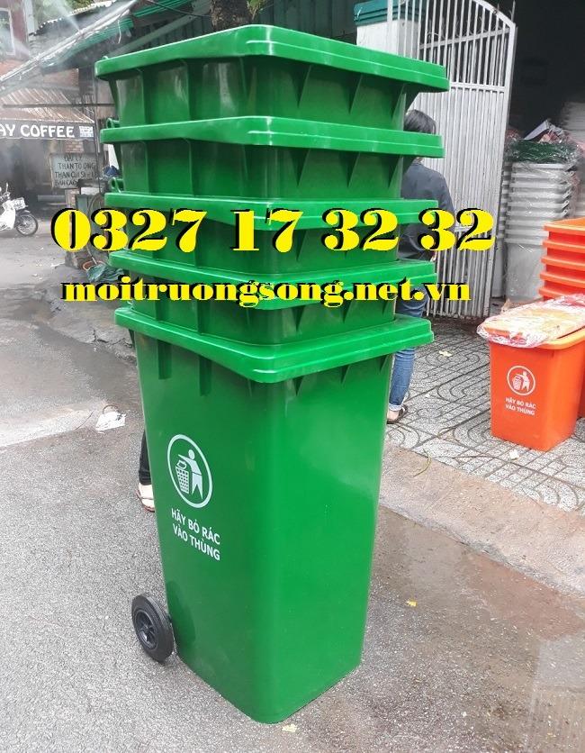 Thùng rác công cộng giá rẻ 240L