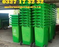 thùng rác môi trường đô thị 240 lít