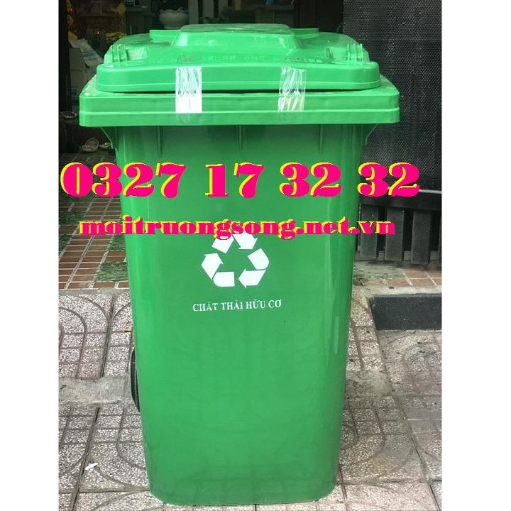 thùng rác nhựa 360L