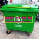Thùng rác 660 lít