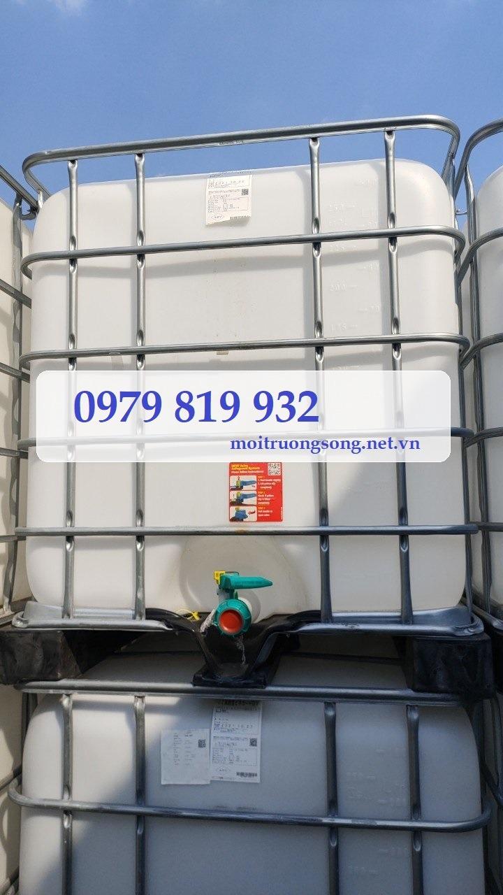 Tank nhựa IBC 1000L nhập khẩu