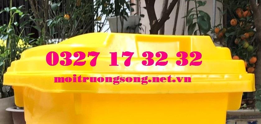 Thùng đựng rác thải y tế 25L