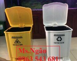 Thùng rác y tế 25 lít