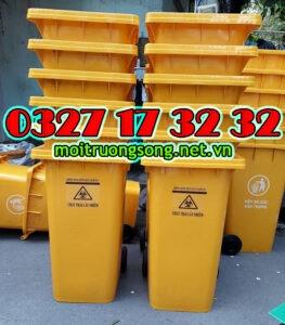 các loại thùng rác y tế