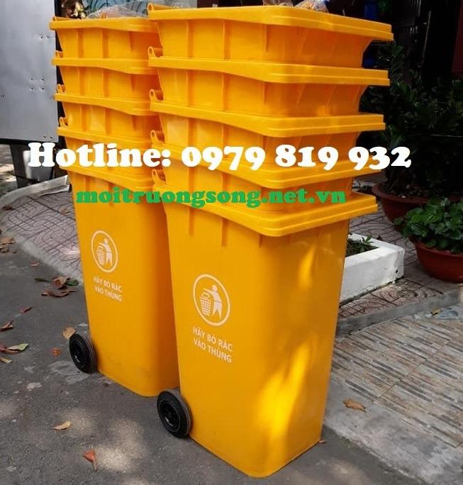 Thùng đựng rác công cộng 240L