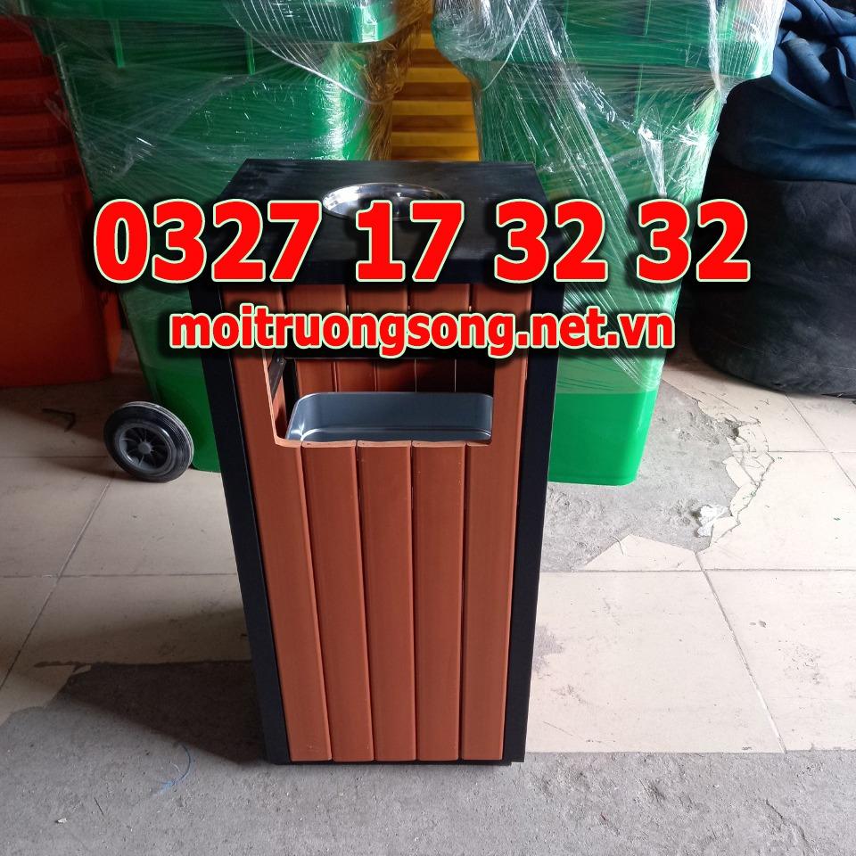 thùng rác ngoài trời A75-C
