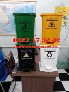 Các loại thùng rác y tế 15l