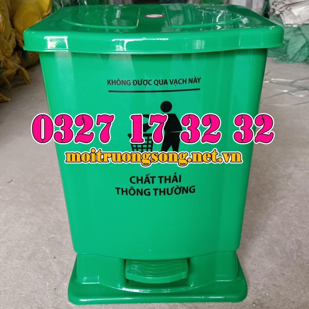 Thùng rác y tế 15 lít thông thường