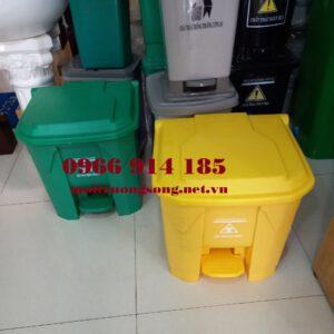 Các loại thùng rác y tế 30l