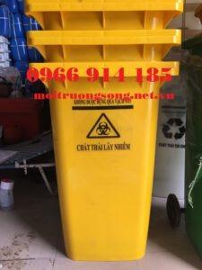 Các loại thùng rác y tế 240 lít
