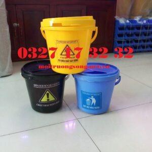 Các loại thùng rác y tế xô y tế