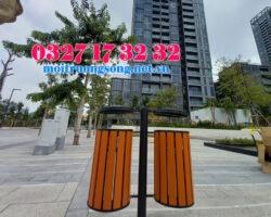 Thùng rác môi trường khu đô thị