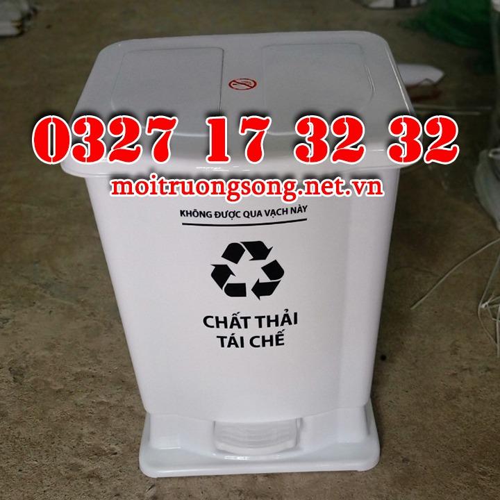 Thùng rác y tế 15 lít tái chế