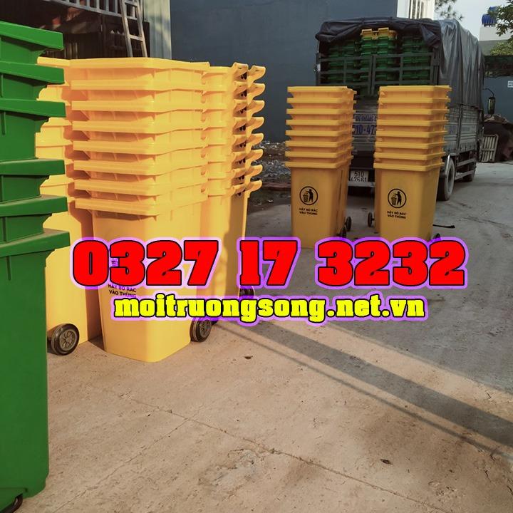 thùng rác 240 lít các loại