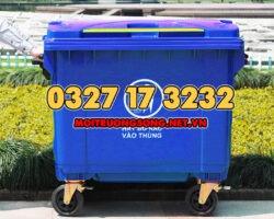 thùng rác 660l giá rẻ cho công viên